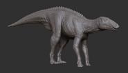 Juvenile Shantungosaurus 3D Model The Isle