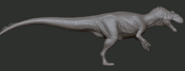 Allosaurus 3D Model The Isle