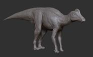 Juvenile Corythosaurus 3D Model The Isle
