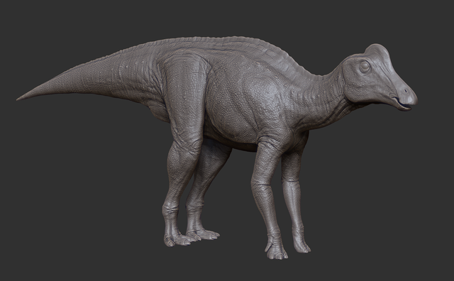 Image - Juvenile Corythosaurus 3D Model The Isle.png | The Isle ...
