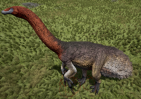 Blue-Faced Therizinosaurus The Isle