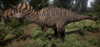 Lacy Acrocanthosaurus The Isle