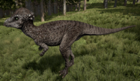 Rubble Pachycephalosaurus The Isle