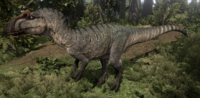 Mudflat Allosaurus The Isle