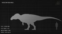 Acrocanthosaurus Dossier The Isle