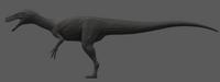 Melanistic Herrerasaurus The Isle