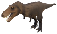 Grizzly Tyrannosaurus Rex Sub-Adult The Isle