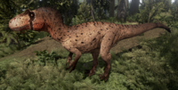 Arid Allosaurus The Isle