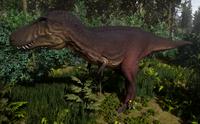 Melanistic Tyrannosaurus Rex Sub-Adult The Isle