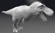 Feather Tyrannosaurus 3D Model The Isle