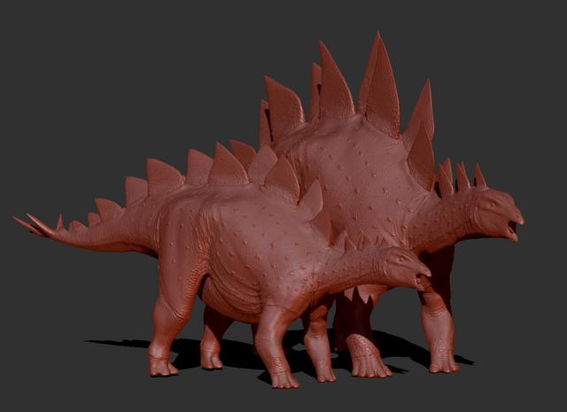 File:Juvenile Stegosaurus Model The Isle.png
