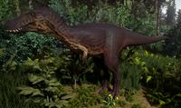 Melanistic Tyrannosaurus Rex Juvenile The Isle