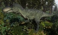 Green Tyrannosaurus Rex Adult The Isle
