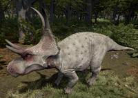 Albino Diabloceratops The Isle