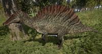 Green Spinosaurus The Isle