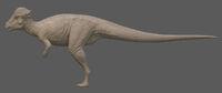 Albino Pachycephalosaurus The Isle