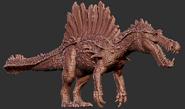 Hyperendocrin Spinosaurus Model Art The Isle