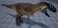 Amber Giganotosaurus The Isle