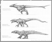 Old Dinosaur Strains Concept Art The Isle