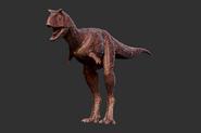 Juvenile Carnotaurus 3D Model The Isle