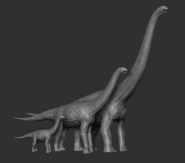 Juvenile Puertasaurus Model The Isle