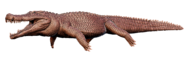 Deinosuchus Model Art The Isle