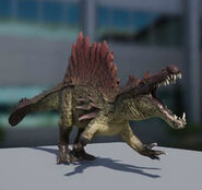 Hyperendocrin Spinosaurus 3D Model 2 The Isle