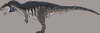 Blue Cheek Acrocanthosaurus The Isle