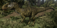 Isilian Allosaurus The Isle