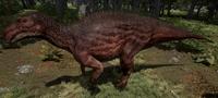 Melanistic Maiasaura The Isle
