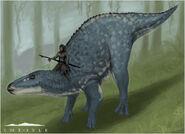 Primitives Dinosaur Riding Concept Art The Isle
