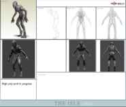 Cannibal Designs Concept Art The Isle