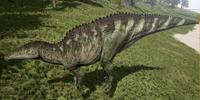 Green Shantungosaurus The Isle