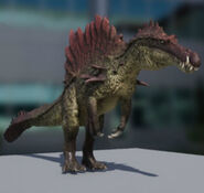 Hyperendocrin Spinosaurus 3D Model The Isle