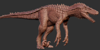 Hyperendocrin Utahraptor Model Art The Isle