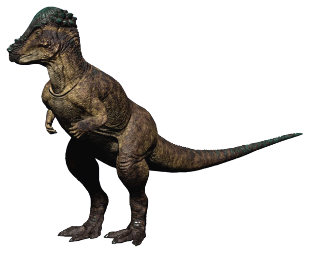 File:Pachycephalosaurus The Isle.png