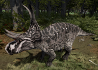White-Nosed Diabloceratops The Isle
