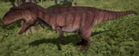 Red Giganotosaurus The Isle