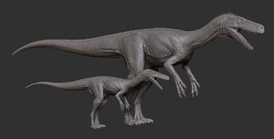 Juvenile Herrerasaurus Model The Isle