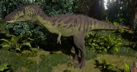 Undergrowth Tyrannosaurus Rex Juvenile The Isle