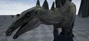 New Stegosaurus Face Model The Isle