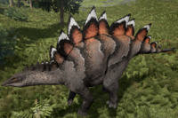 Black-Tipped Stegosaurus The Isle