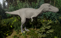 Albino Tyrannosaurus Rex Juvenile The Isle
