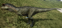 Green Carnotaurus The Isle
