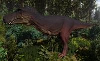 Melanistic Tyrannosaurus Rex Adult The Isle