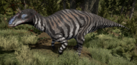 Striped Maiasaura The Isle