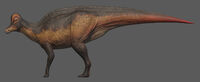 Vibrant Corythosaurus The Isle