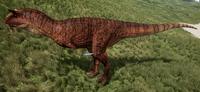 Volcano Carnotaurus The Isle