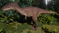 Sandstone Tyrannosaurus Rex Juvenile The Isle