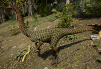 Green Gallimimus The Isle